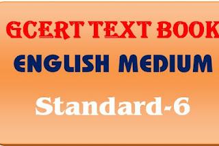 GCERT Textbook English medium std 6 pdf @ https://gcert.gujarat.gov.in/gcert
