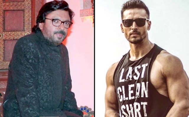 sanjay leela bhansali and tiger shroff