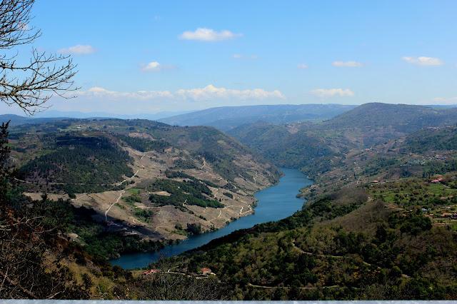 Cañones del río Sil en la Ribera Sacra