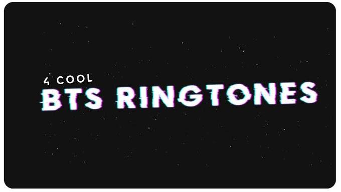 4 Cool BTS Ringtones