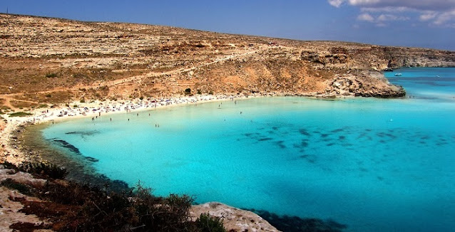 Rabbit Beach, Lampedusa Italia
