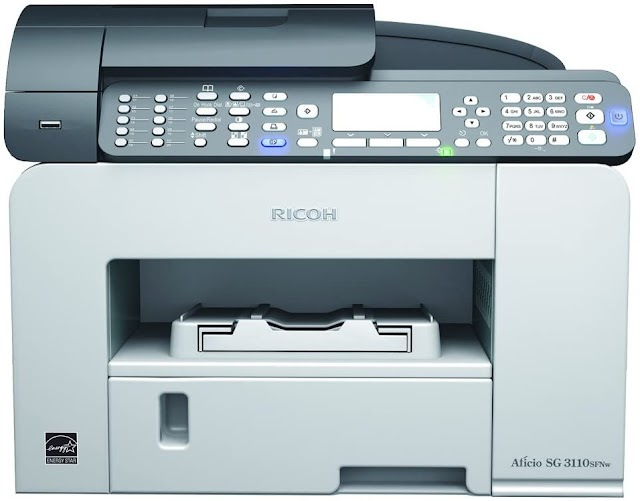 Ricoh aficio sg 3110sfnw Treiber Download