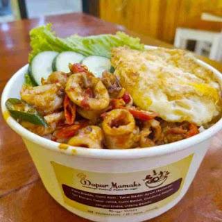 malesmegawe.com - Rice Bowl Cumi Asin Bledek