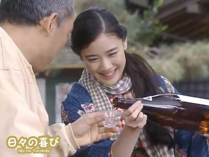 osen drama heroine saké
