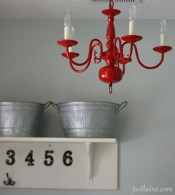 Spray paint light fixtures, lighting