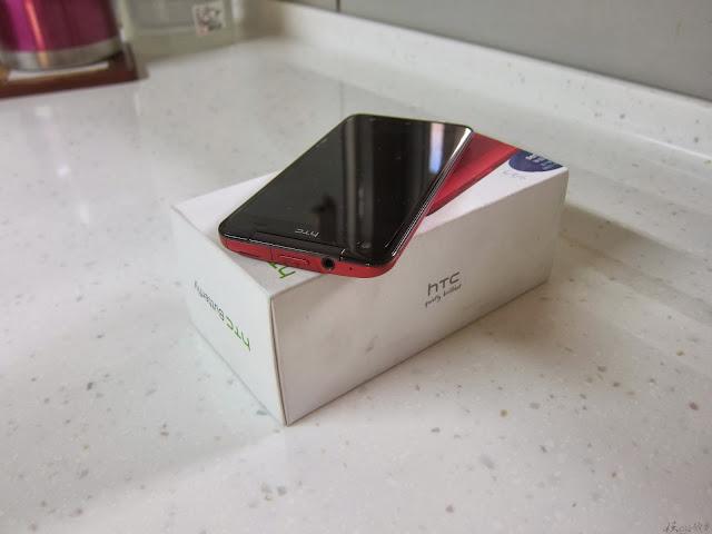 IMG 2175 - [開箱] HTC 蝴蝶機 Butterfly X920D 超美型5吋4核機!