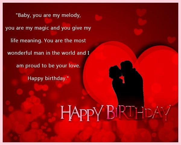 Emotional Happy Birthday Wishes for Lover