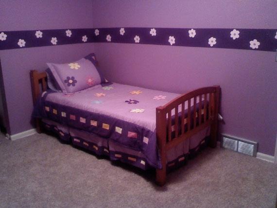 Simple Ideas For Purple Room Design