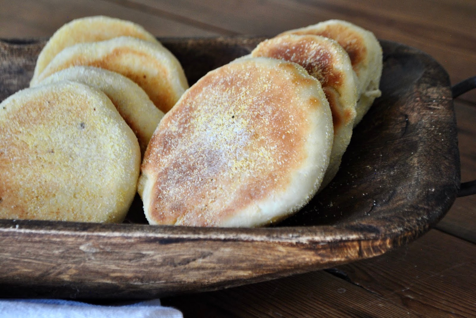 Homemade soft and fluffy English muffins perfect for breakfast and brunch.