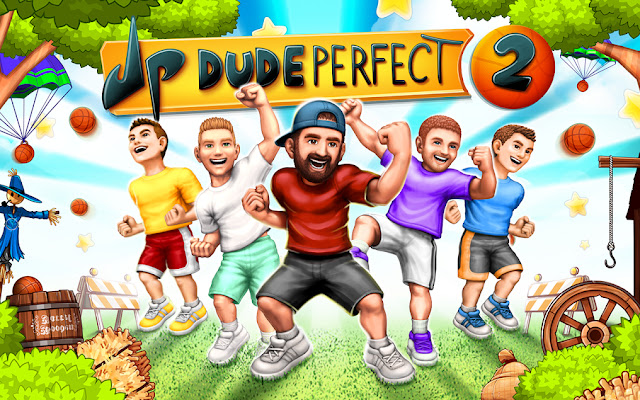 Dude Perfect Game Interface