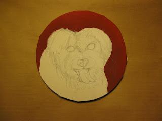 tutorial cani dipinti tela