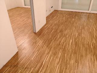 suelo de madera de roble