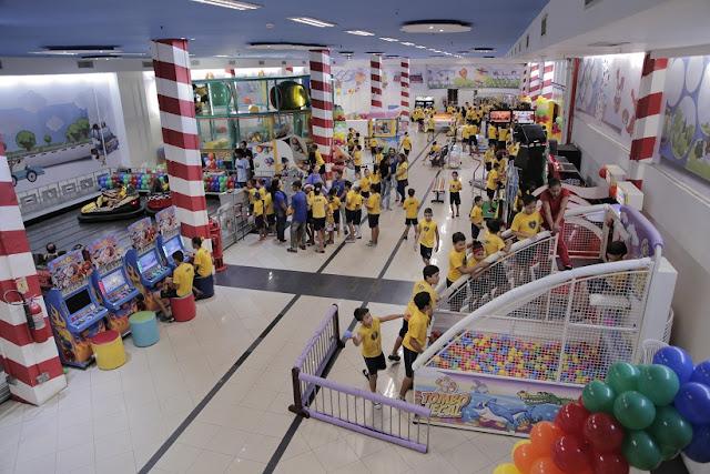 Dia das Crianças na LBV, recheado de brincadeiras, guloseimas e brinquedos Um dia mágico mais de trezentos meninos e meninas assistidos pela Instituição