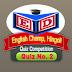 English Champ Hingoli | Quiz No.2