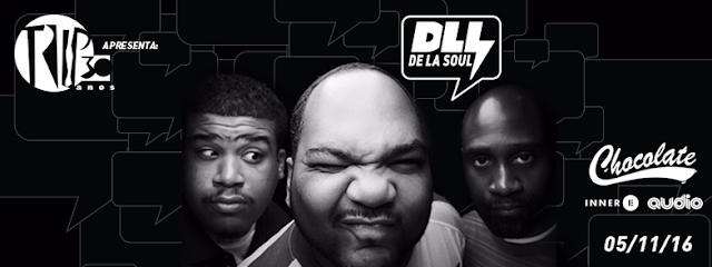 Grupo americano De La Soul se apresenta nesse sábado na Audio em São Paulo RH