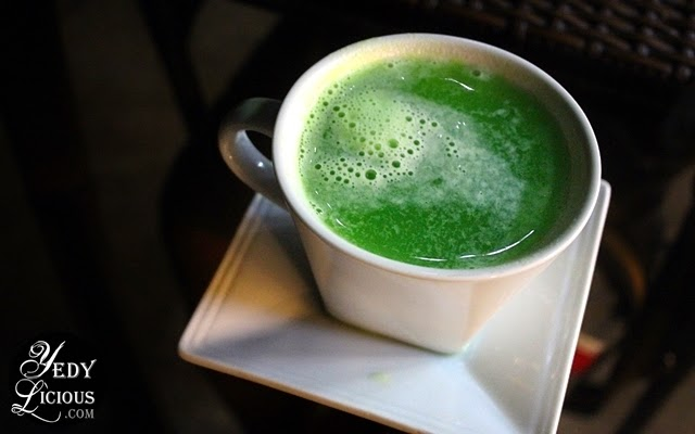 Green tea at Roots and Herb Coffee Shop Restaurant Antipolo / Antipolo Food Trip Blog
