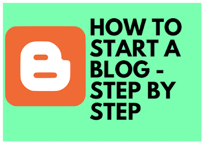 How To Start A Blog - Step By Step