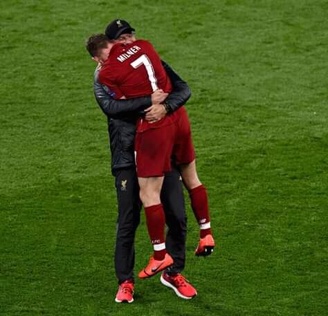A New deals  between Jurgen Klopp and Liverpool