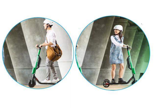 GrabWheels adalah salah satu fitur layanan dari Grab dimana pengguna dapat menyewa e-Scooter untuk keperluan pribadi melalui Grab App. GrabWheels sering disebut juga sebagai scooter (skuter) listrik walaupun dari tampilannya lebih mirip dengan otoped listrik.    Pada scooter listrik GrabWheels tenaga yang digunakan sebagai penggerak adalah listrik yang disimpan dalam baterai sehingga aman & ramah bagi lingkungan dikarenakan tidak menghasilkan polutan (adalah materi penyebab polusi). Sedangkan e-scooter adalah istilah yang digunakan Grab karena skuter GrabWheels tersebut sudah terintegrasi dengan perangkat aplikasi Grab.    Mei 2019 adalah merupakan awal peluncuran GrabWheels, dimana pada tahap pengembangan ini GrabWheels hanya bisa ditemukan di beberapa lokasi di Jakarta. Untuk daerah lain di Indonesia rencananya GrabWheels akan diluncurkan secara bertahap.