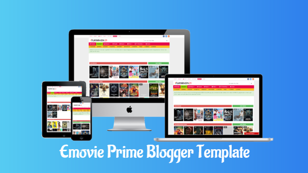 Emovie Prime V3.4 Premium Blogger Template - Responsive Blogger Template