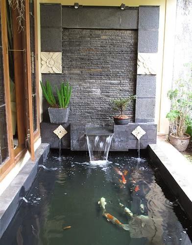 tukang taman  kolam minimalis  kolam hias  kolam air