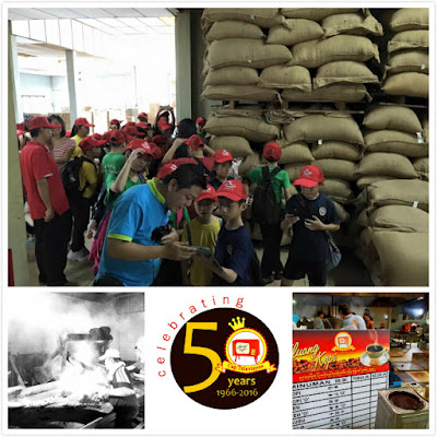 Kluang day tour coffee factory