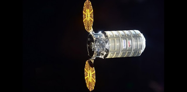 Orbital ATK's Cygnus cargo spacecraft named S.S. Deke Slayton II released from the ISS. Credit: Orbital ATK/NASA