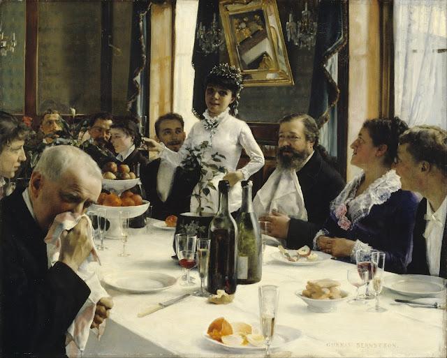 Gunnar Berndtson - La canción de la novia - 1881