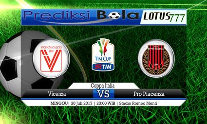 Prediksi Pertandingan antara Vicenza vs Pro Piacenza Tanggal 30 Juli 2017