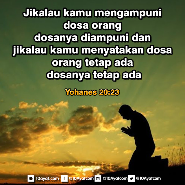 Yohanes 20:23