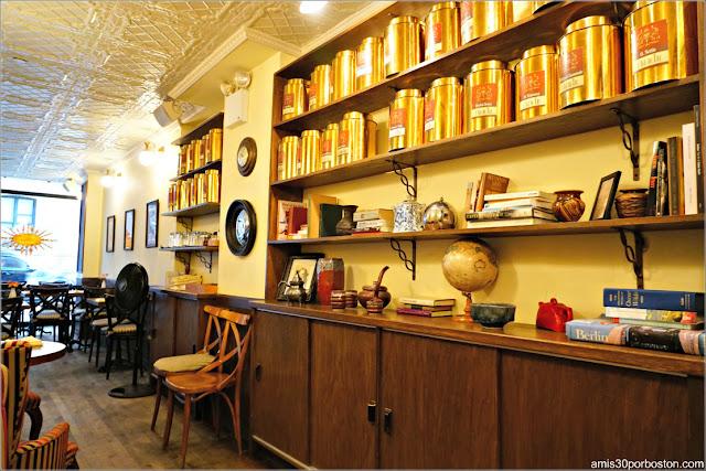 Comedor del Bosie Tea Parlor en Nueva York