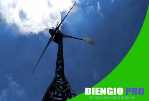 Dự án máy phát điện gió tại Q12