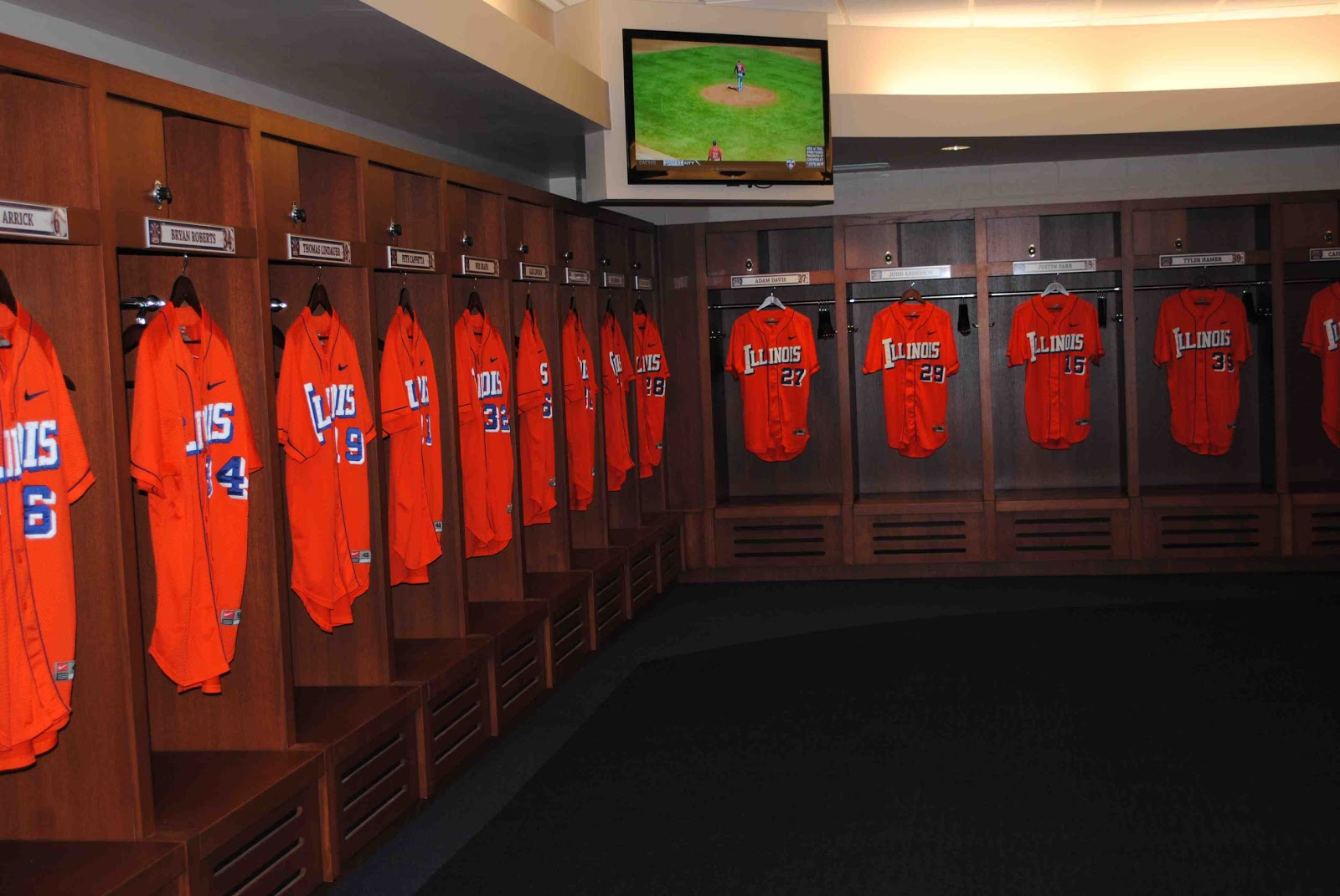 A Major Expansion Of The Locker Room Facilities At Illinois Field Home To University Baseball Team Presented Big Ten Powerhouse With