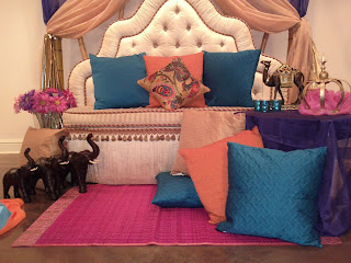 Moroccan themed party decoration