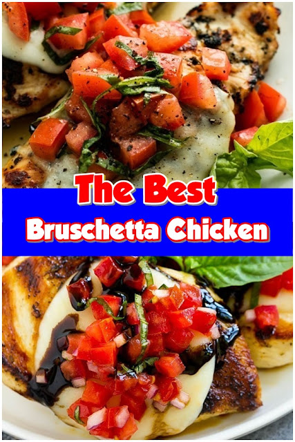 #Bruschetta #Chicken