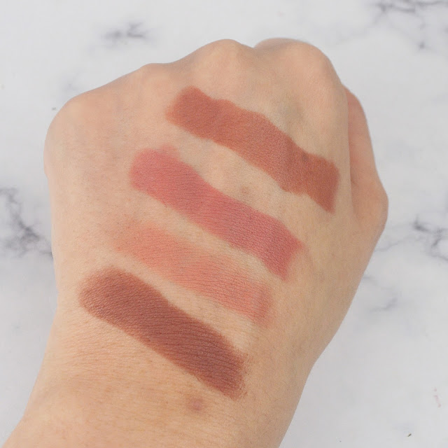 Technic Cosmetics Colour Max Matte Lipstick Nude Edition Swatches Lovelaughslipstick Blog