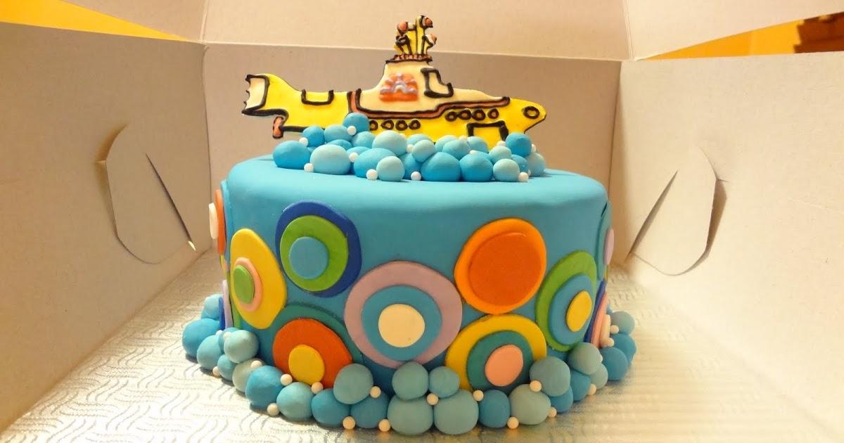 Cakes By Jess Beatles Birthday Cake
