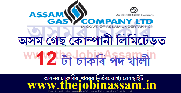 The Assam Gas Company Limited Recruitment 2021