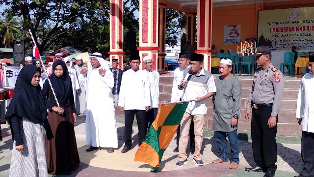 Ketua DPRD Bone, Lepas Pawai Hijryah di Bone Utata