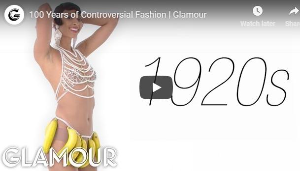 100 anos de moda controversa...