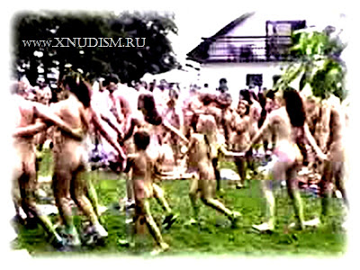 Nudists video. Family nudists in nature. holiday nudists