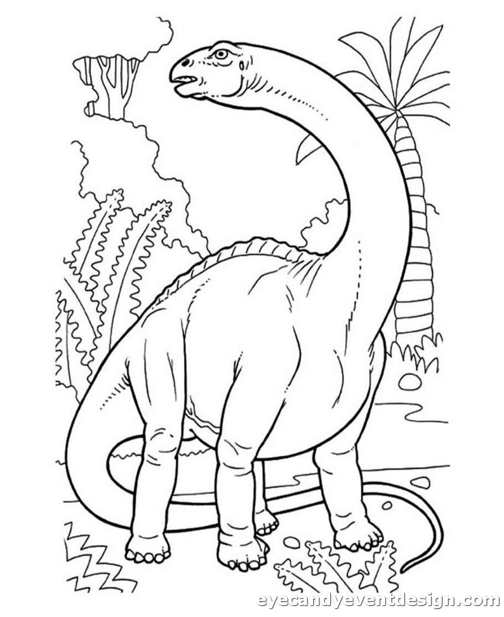 Dino Bilder Zum Ausmalen