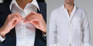 Kenapa Kancing Baju Kemeja Pria Dan Wanita Berbeda?