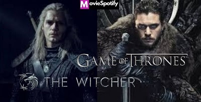 The withcher Game of thrones comparison