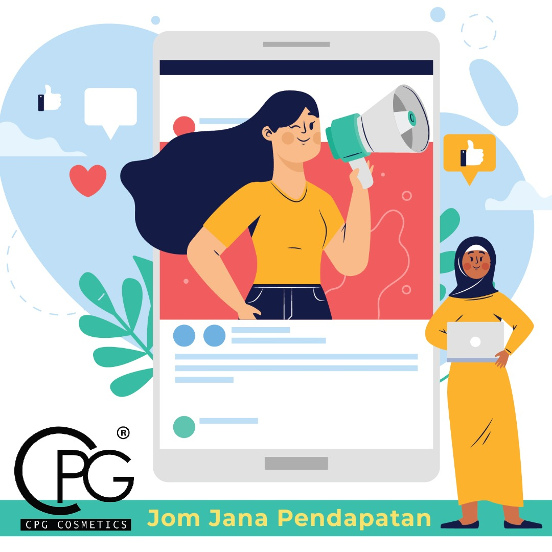 Nak Jana Pendapatan Semasa PKP? CPG Cosmetics Boleh Bantu !