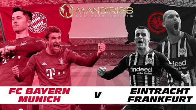 Prediksi Bayern Munchen Vs Eintracht Frankfurt, Sabtu 23 Mei 2020 Pukul 23.30 WIB @ Mola TV