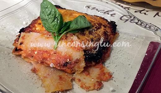 lasaña sin gluten en roma