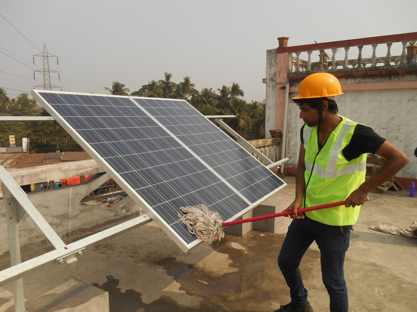 6 Months Advance Certificate In Pv Plant Maintenance Solar Energy Education Training