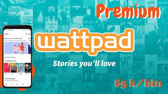 Cara berlangganan Wattpad Premium