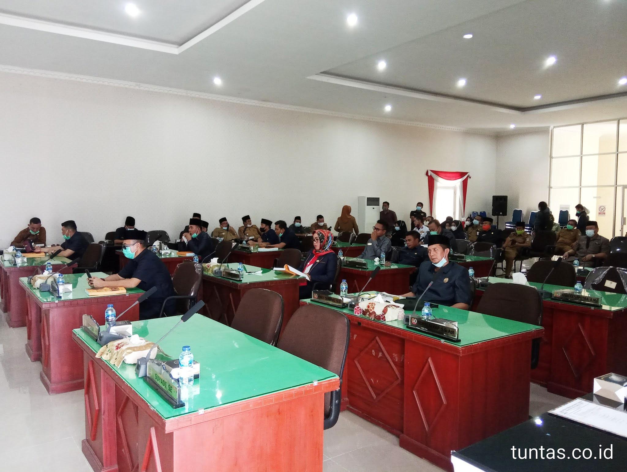 Dewan Muratara yang hadir